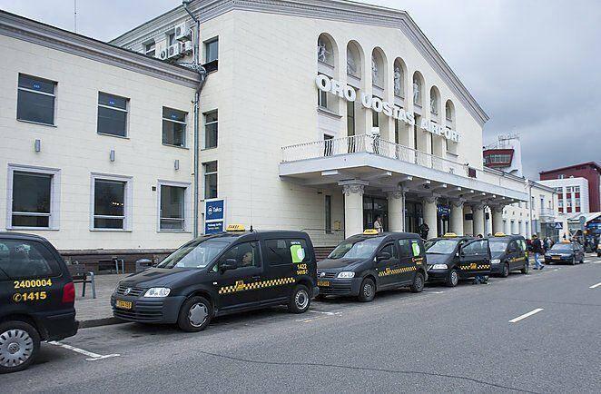 Такси в аэропорту Вильнюса